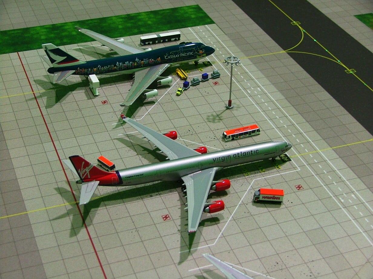 Aeriaa Airport Model Madrid Barajas