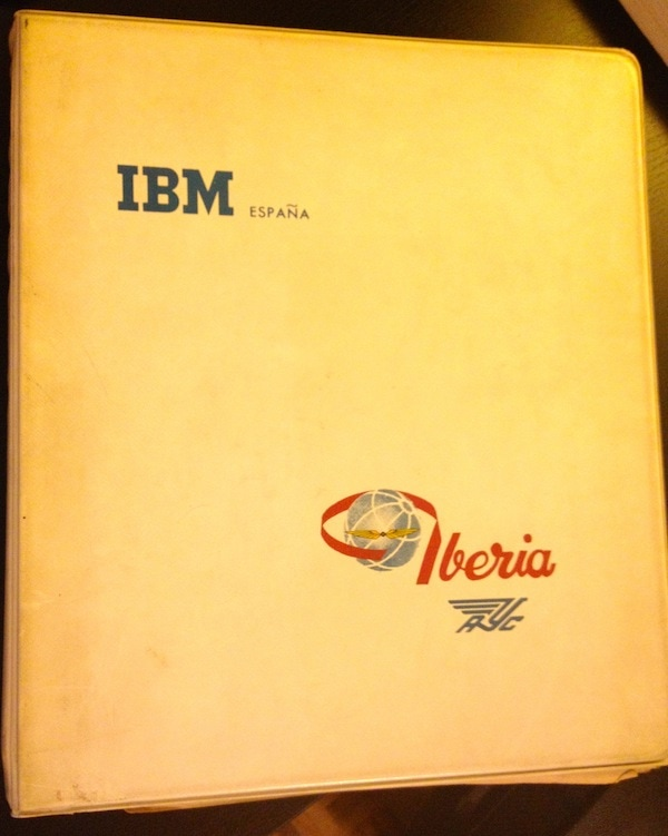 IBM study for Iberia and Aviaco