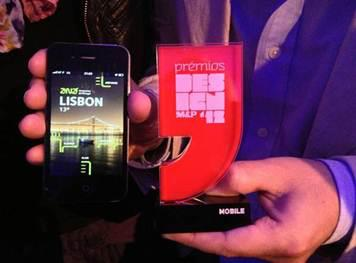 Best Digital Mobile Design 2012 by 'Meios & Publicidade Awards'