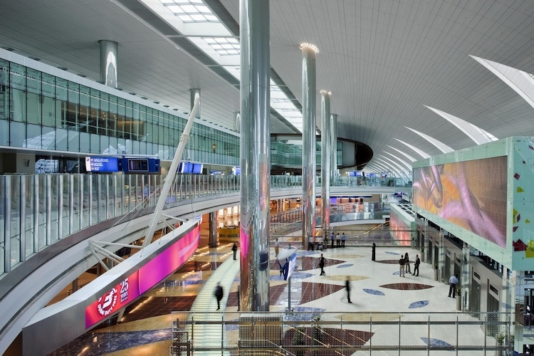 Dubai International Airport. (DXB) T3 Concourse 2. Source: www.dubaiairport.com Media Centre