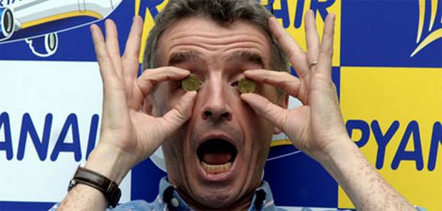 Ryanair's CEO. Michael O'Leary