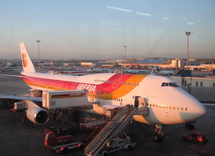 Iberia 747