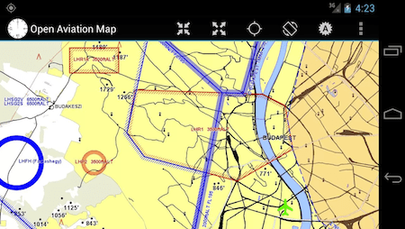 Open Aviation Map Android App
