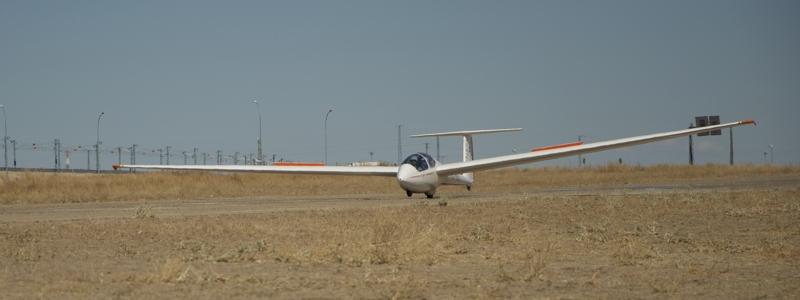 Landing at LEOC