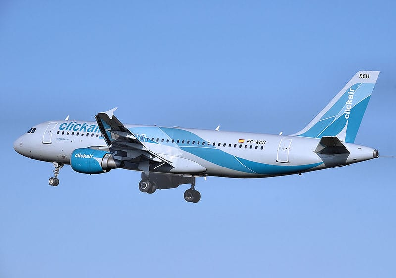 Clickair's A320