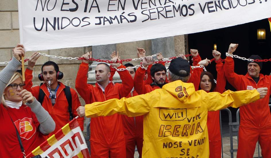 Iberia's workers claims.