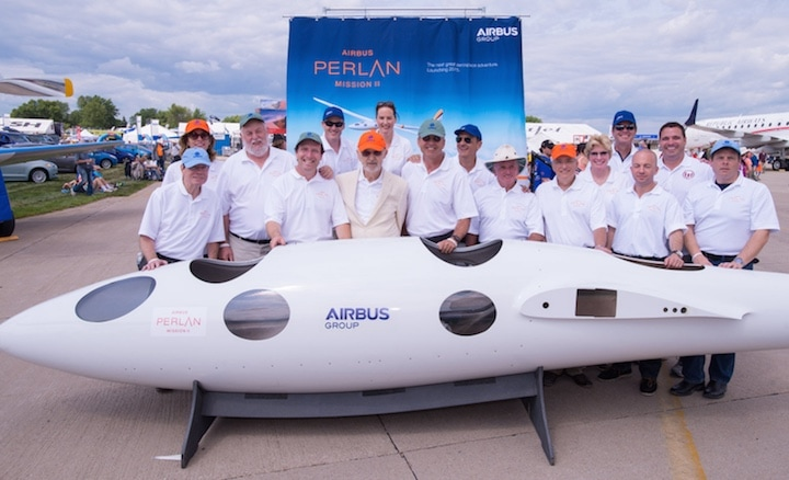 Airbus Perlan Project Mission II Team