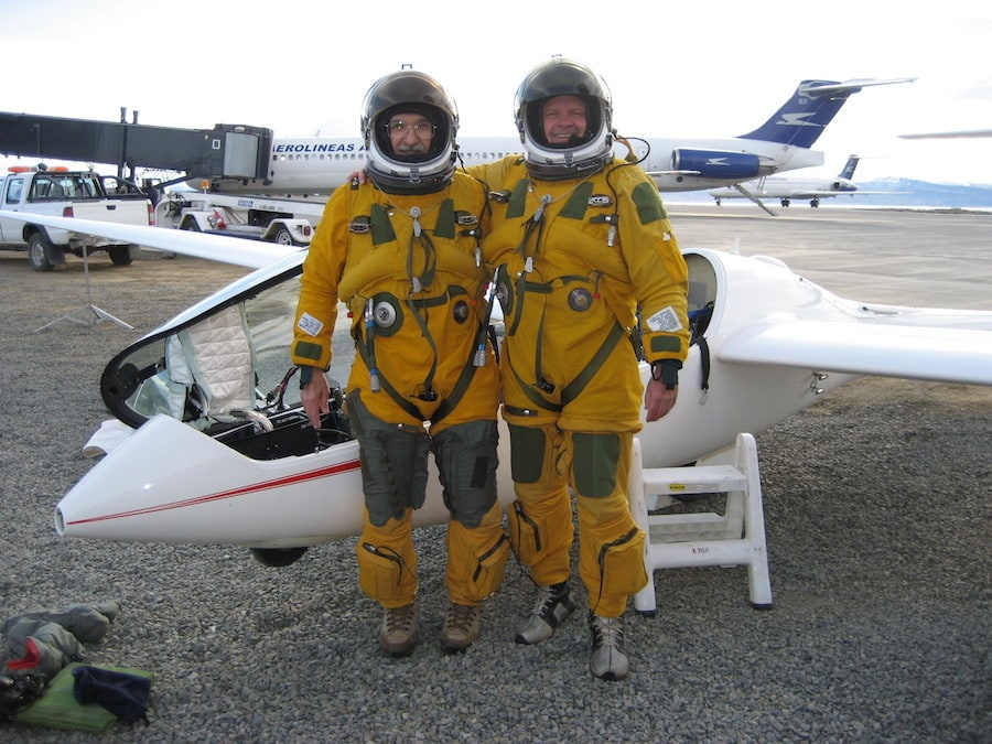Steve Fosset (Right)