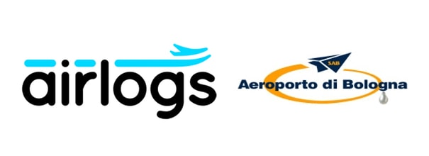 Arilogs and Bologna AIrport logos